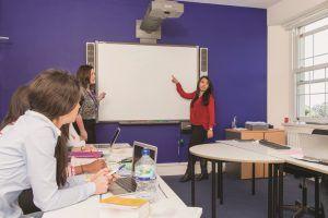 Sprachschule Torquay, Kaplan International England, Interactive Whiteboards