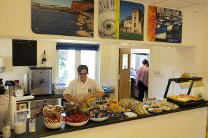 Sprachschule Torquay, Kaplan International England, Cafeteria