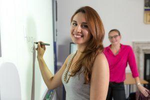 Sprachschule Bath, Kaplan International England, Interactive Whiteboard
