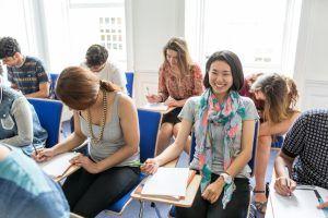Sprachreise Bath, Sprachschule Kaplan International England, Klassenzimmer