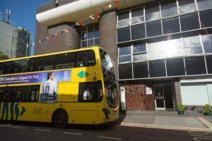 Sprachreise Bournemouth, Sprachschule Kaplan International England, Schule von außen