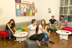 Sprachschule, Dublin Kaplan, Sprachreise, Sprachkurs, Irland, Aufenthaltsraum