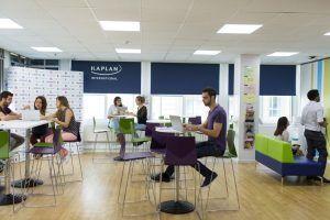 Sprachschule Liverpool, Kaplan International England, Aufenthaltsraum2