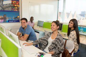 Sprachschule Manchester, Kaplan International England, Computer Lab
