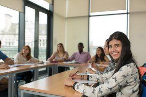 Sprachschule Manchester, Kaplan International England, Klassenzimmer