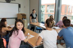 Sprachschule Manchester, Kaplan International England, Unterricht