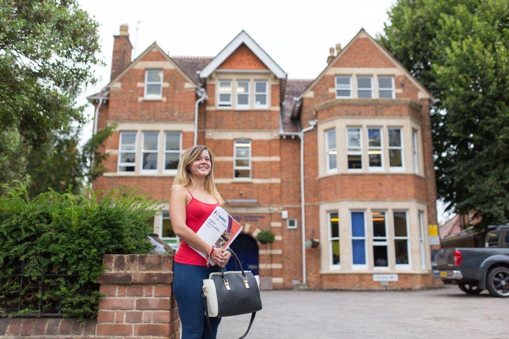 Sprachschule Oxford, Kaplan International England, Gebäude