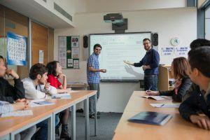 Sprachschule Manchester, Kaplan International England, Klassenzimmer 2
