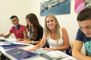 Sprachschule Torquay, Kaplan International England, Unterricht 2