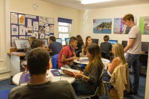 Sprachschule Torquay, Kaplan International England, Aufenthaltsraum