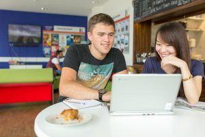 Sprachschule Oxford, Kaplan International England, Aufenthaltsraum