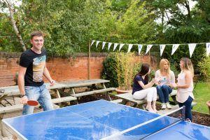 Sprachschule Oxford, Kaplan International England, Tischtennis