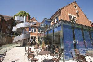 Sprachschule Oxford, Kaplan International England, Wintergarten