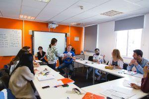 Sprachschule EC Großbritannien, Bristol, Sprachreise, Sprachkurs Klassenraum