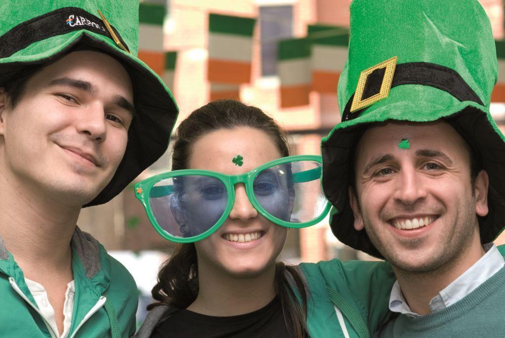 Sprachschule Atlantic Language Galway, Irland, Sprachreise, Sprachkurs, St. Patrick's Day