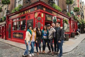 Sprachschule Kaplan Dublin, Sprachreise, Sprachkurs, Irland, Aktivitäten, Temple Bar