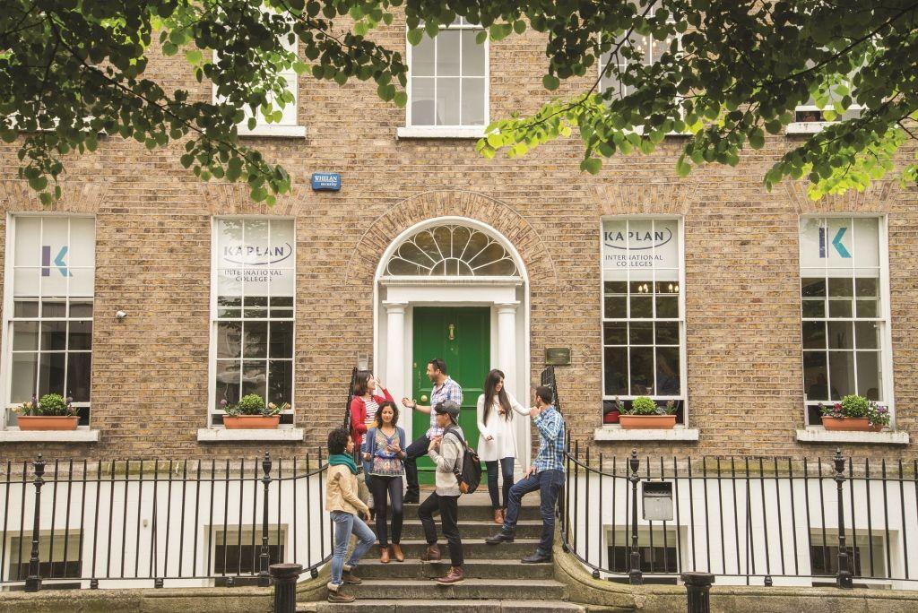 Sprachschule, Dublin Kaplan, Sprachreise, Sprachkurs, Irland, Schulgebäude