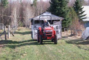 Farmstay Kanada Traktor