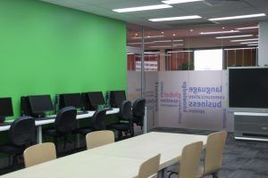 Klassenraum Sprachkurs Brisbane