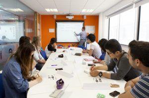 Sprachreise Brighton, Sprachschule EC English England, Klassenzimmer