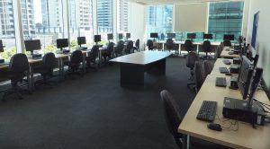 Sprachschule Melbourne Computerraum