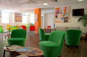 Sprachreise Brighton, Sprachschule EC English England, Lounge