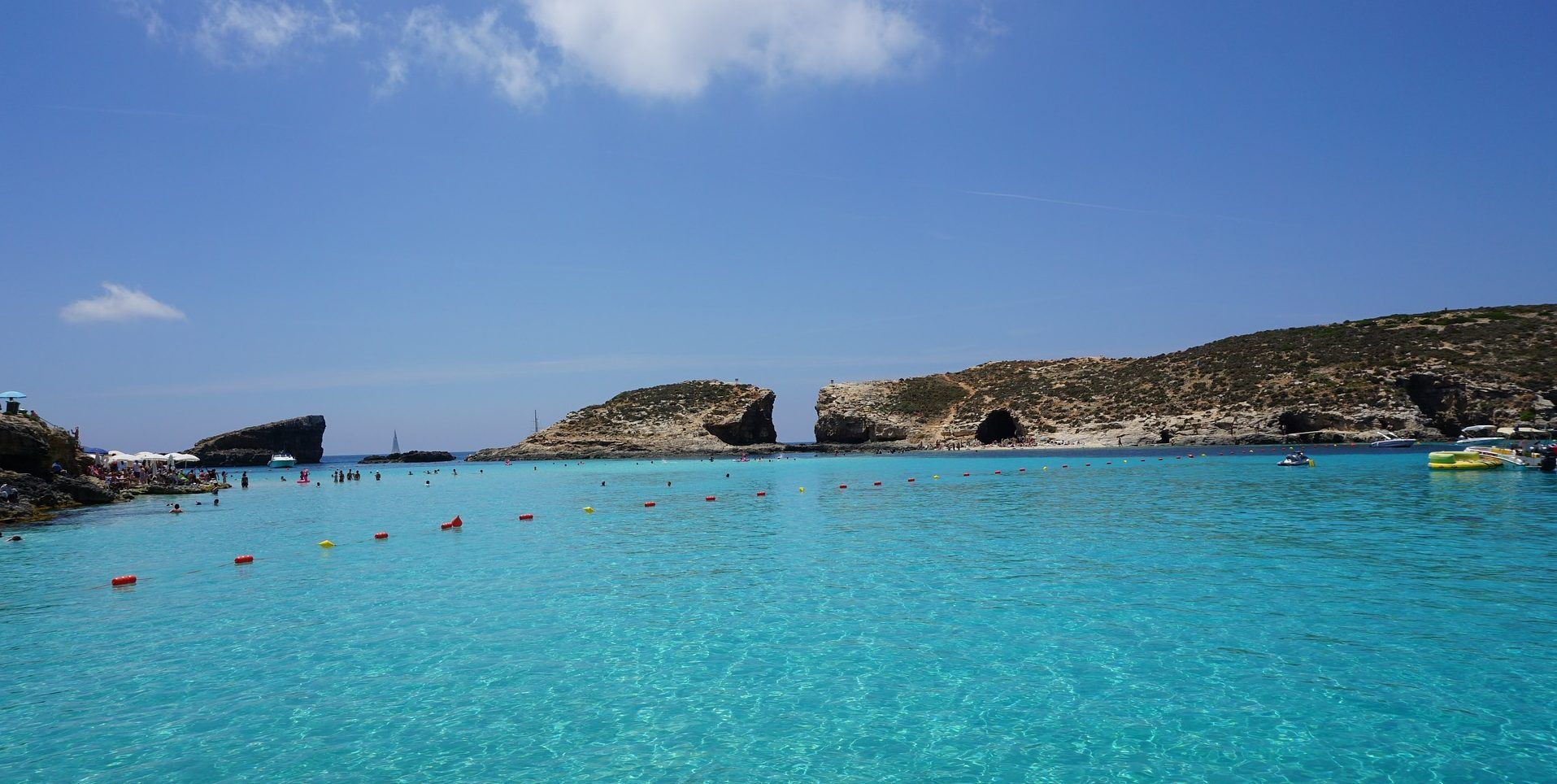 Blaue Lagune Malta Schülersprachreise