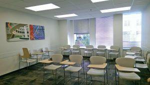 Klassenzimmer Kaplan Washington
