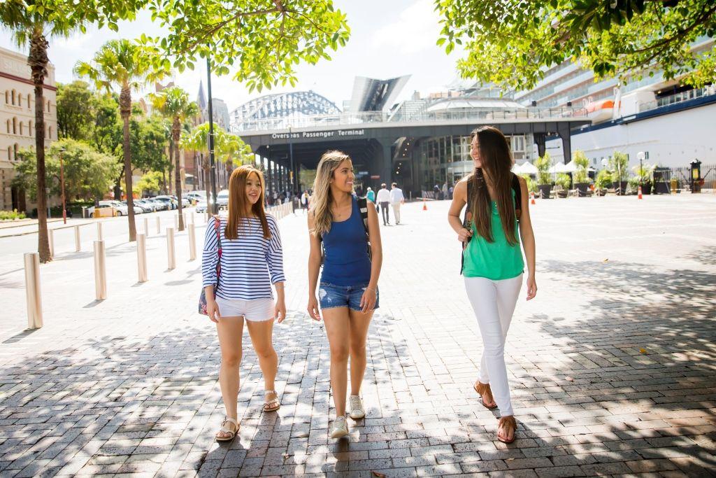Sprachreise Australien Sydney City Kaplan Spaziergang