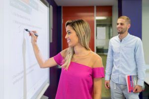 Sprachreisen Australien Sydney City Kaplan Interactive Whiteboards