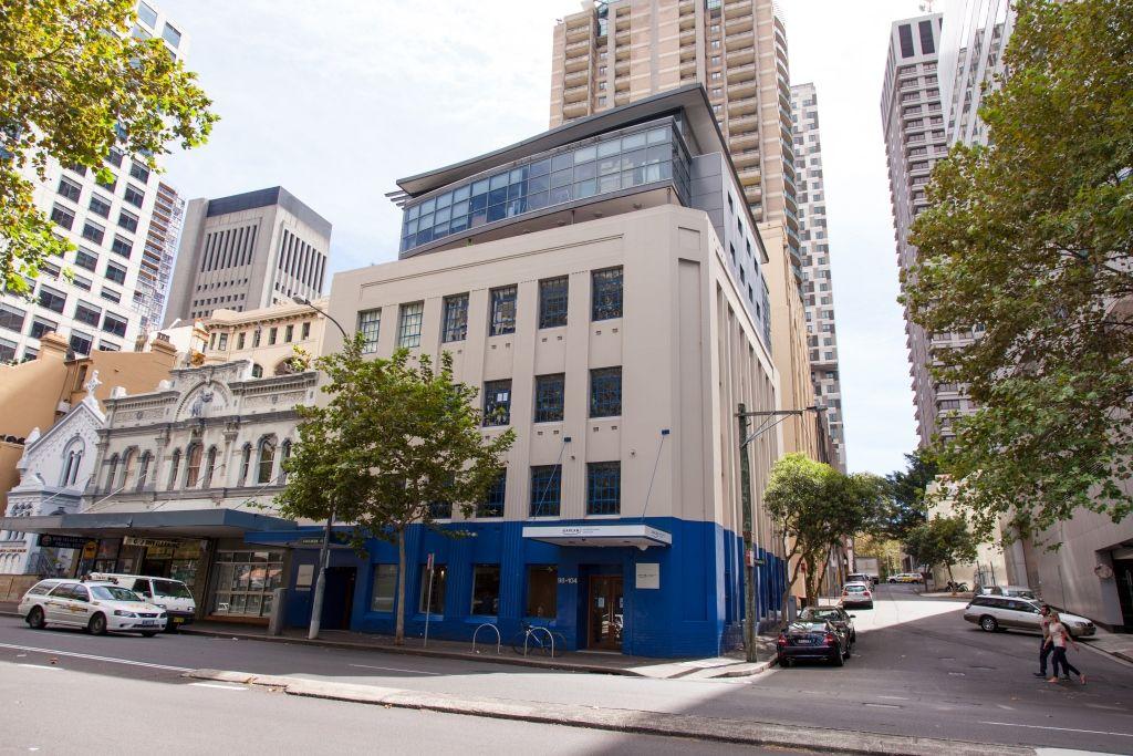 Sprachreisen Australien Sydney City Kaplan Schulgebäude