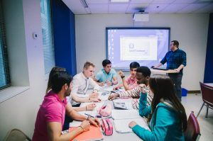 Sprachreise Tornoto, Sprachschule Kaplan International Kanada, Unterricht 2