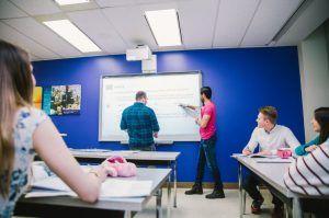 Sprachreise Tornoto, Sprachschule Kaplan International Kanada, Unterricht