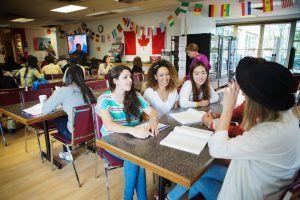 Sprachreise Vancouver, Sprachschule Kaplan International Kanada, Aufenthaltsraum