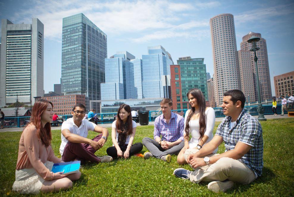 Lernen Sie Englisch in DER Universitätsstadt der Vereinigten Staaten