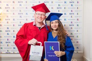Sprachreise Bath, Sprachschule Kaplan International England, Graduation