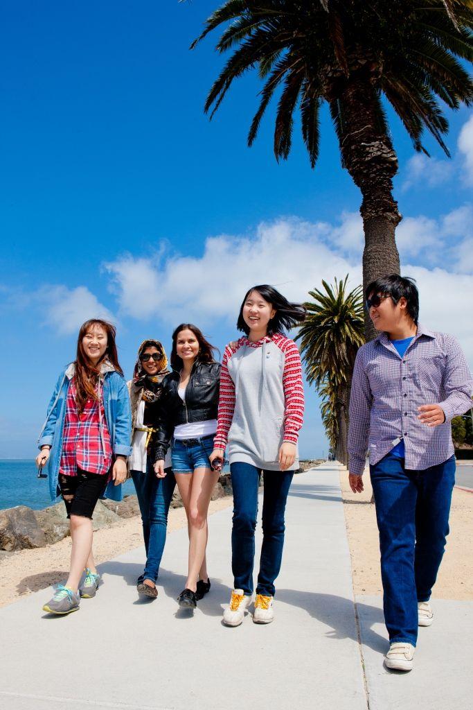 Sprachschule Berkeley_Kaplan International USA_Aktivitäten Spaziergang