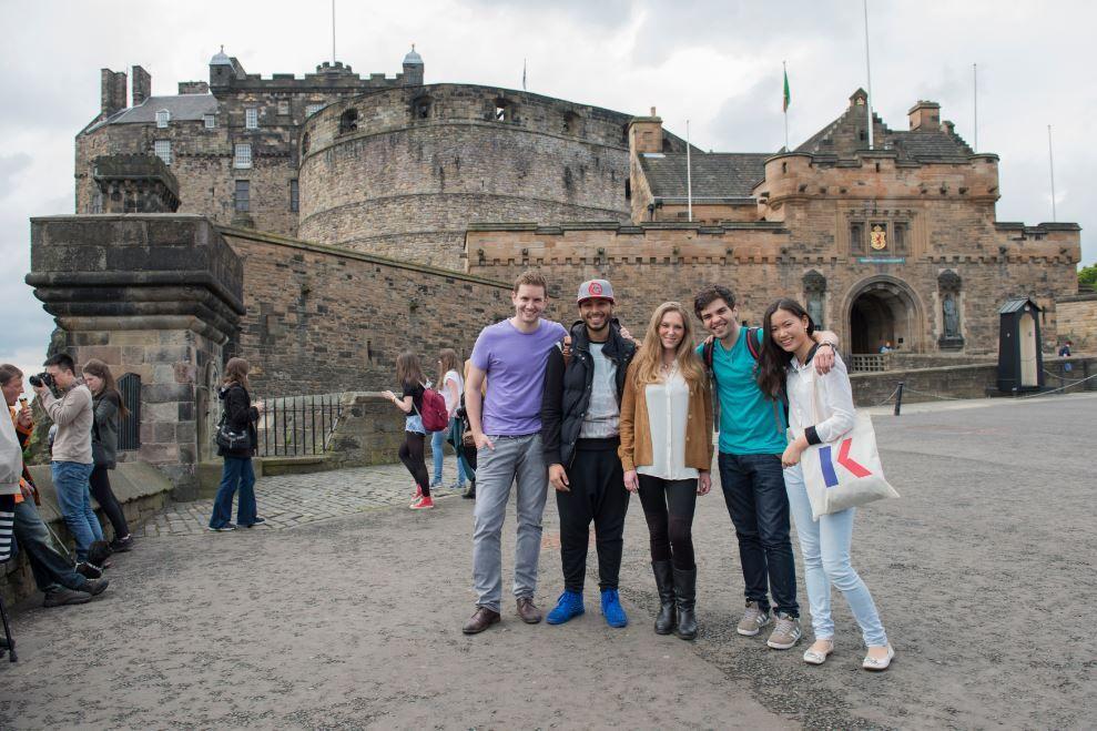 Sprachschule Edinburgh, Kaplan International Schottland, Sightseeing 1