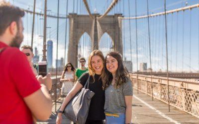 Sprachschule New York Kaplan International USA Aktivitätenprogramm Brooklyn Bridge