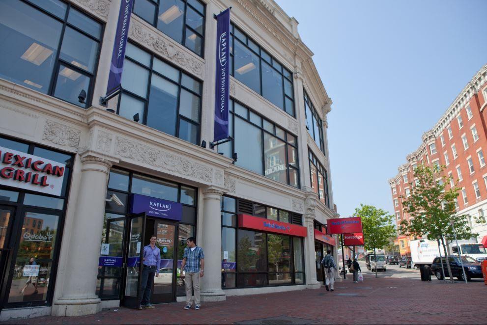 Sprachschule Boston Fenway, Kaplan International USA, Schulgebäude
