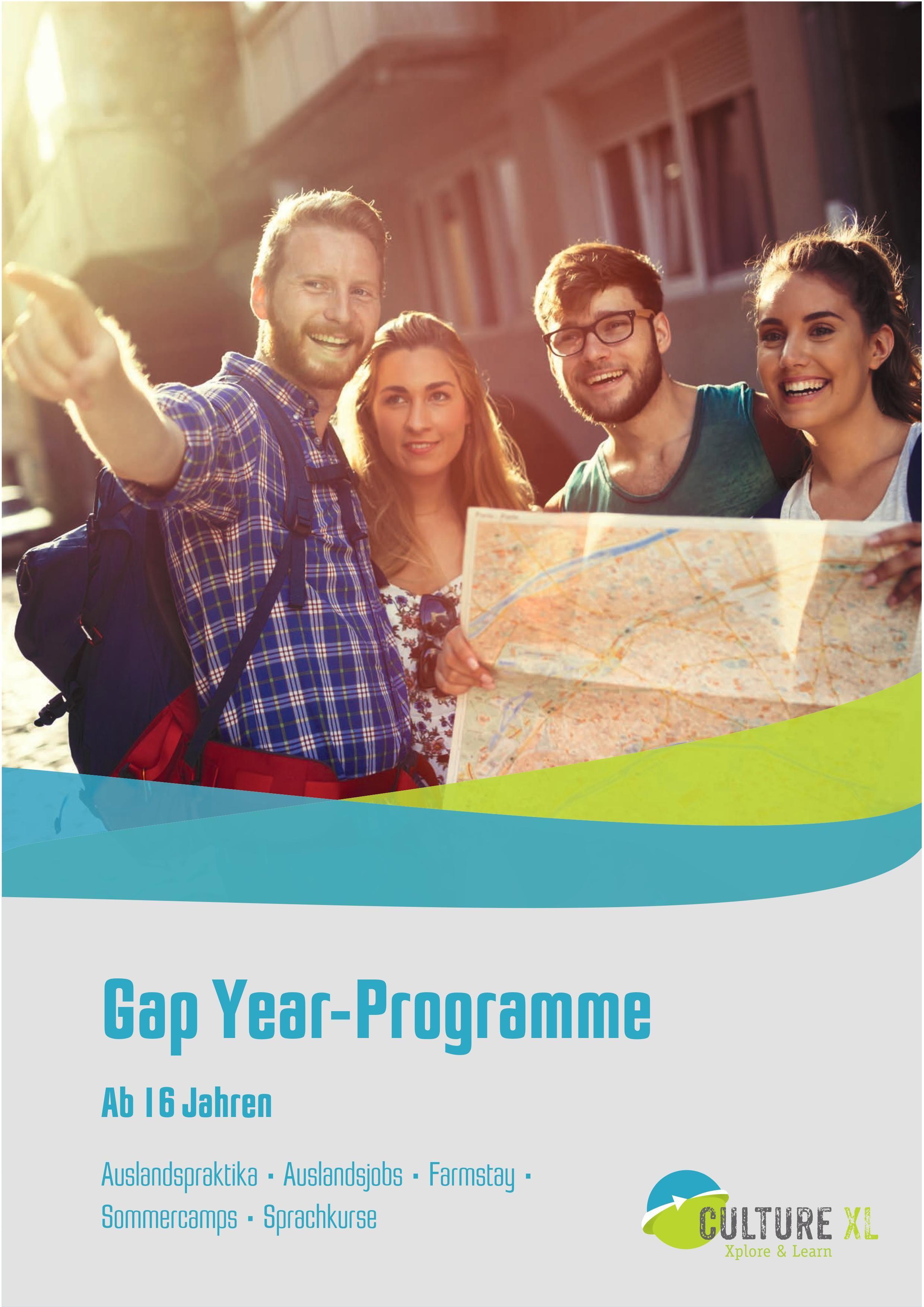 Broschürenbestellung Gap Year