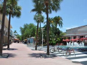 Sprachreise Miami Beach, Sprachschule EC English, USA, Außenbreich