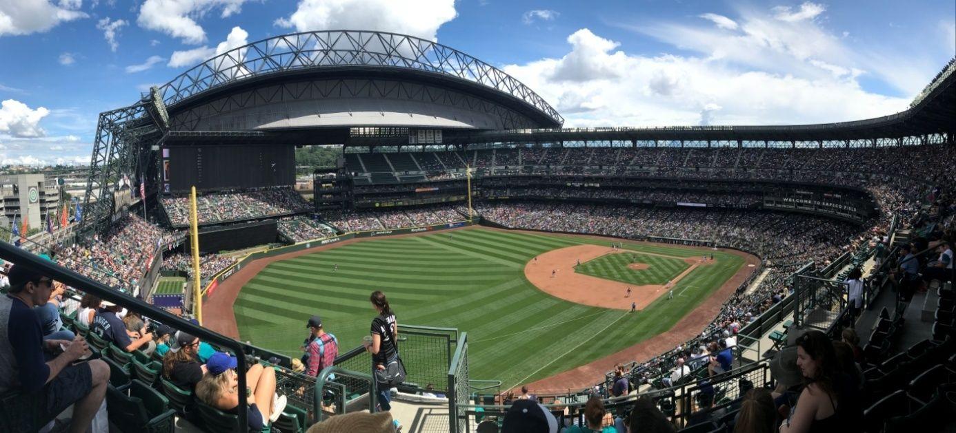 Sprachreise Seattle Baseball Stadion
