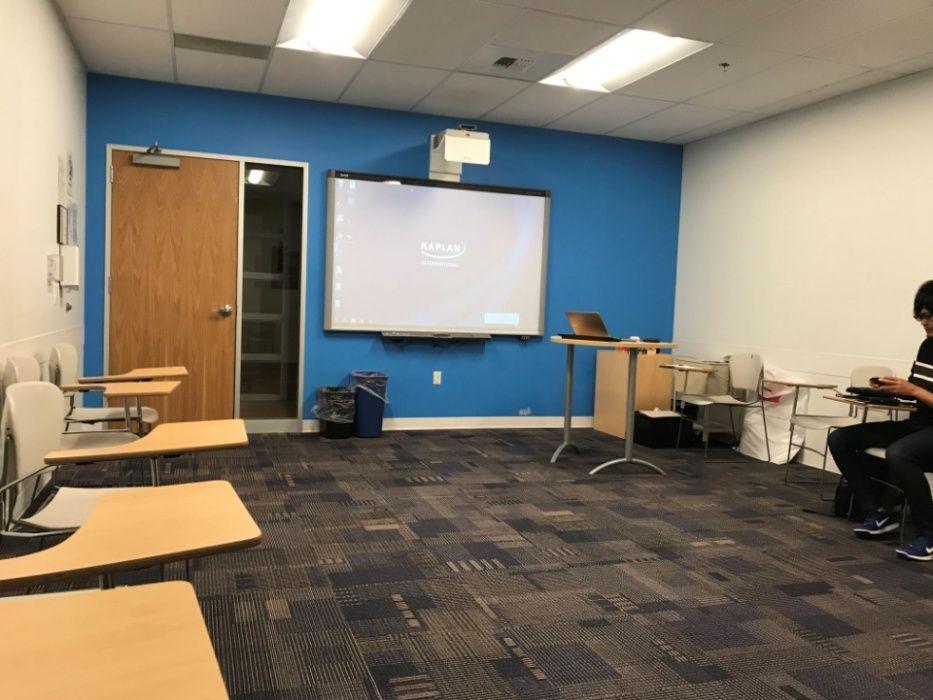 Sprachreise Seattle Klassenzimmer
