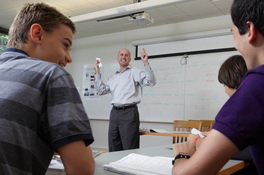 Wheelock College Klassenzimmer Boston Schülersprachreise