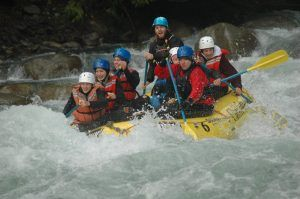High School Aufenthalt Kanada Abbotsford British Columbia Rafting