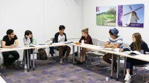 Sprachreise Santa Barbara, Kaplan International USA, Schule Unterricht