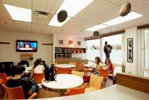 Sprachschule Montreal, EC English Kanada Sprachreise, Schule, Aufenthaltsraum 3