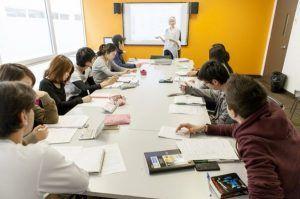 Sprachschule Montreal, EC English Kanada Sprachreise, Schule, Klassenzimmer