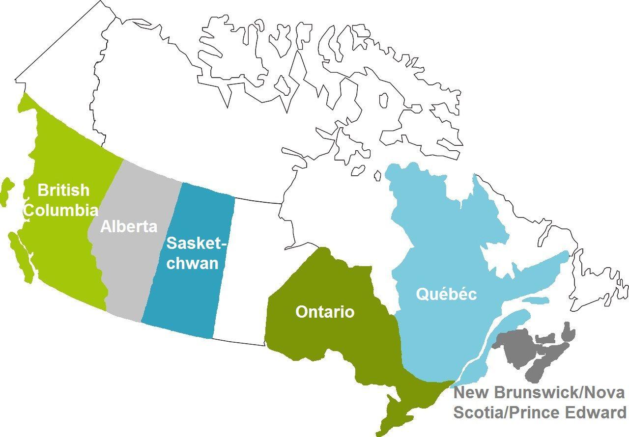 Farmstay Kanada Karte new